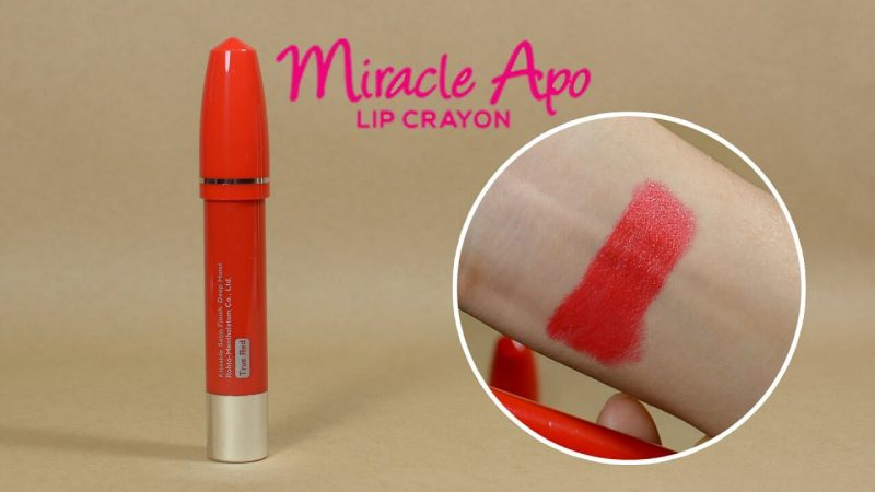 Son Miracle Apo Lip Crayon