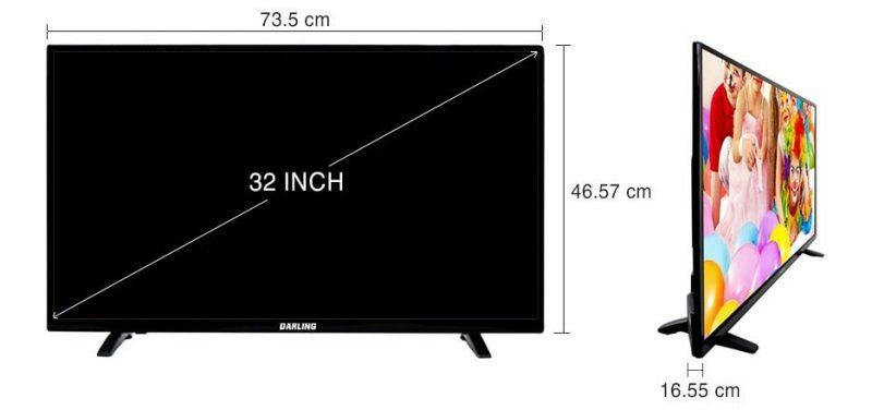Tivi LED Darling 32inch HD 32HD955T2