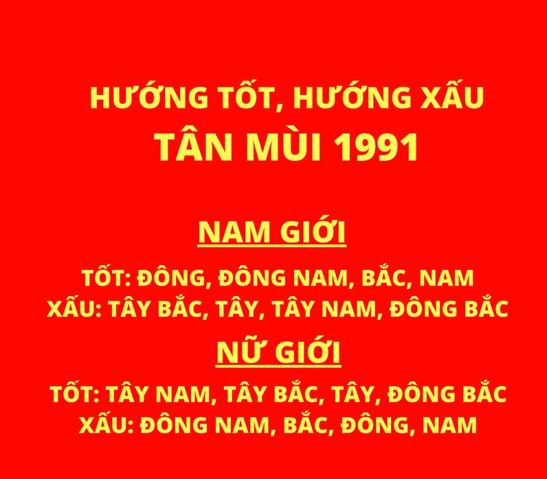 1991 Tân Mùi