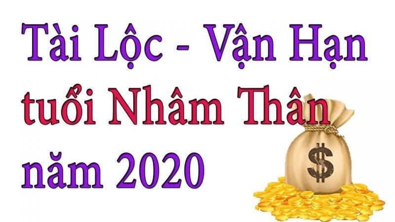 Vận Hạn Năm 2020 Của Nhâm Thân 1992