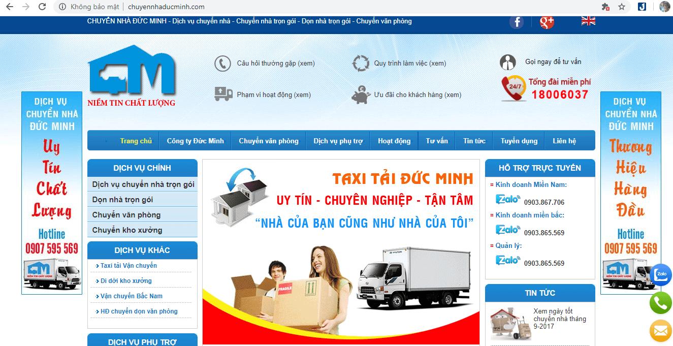 địa chỉ chuyển nhà uy tín ở TP HCM