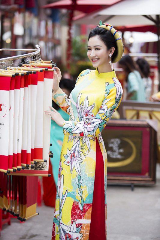 may áo dài Đà Nẵng đẹp
