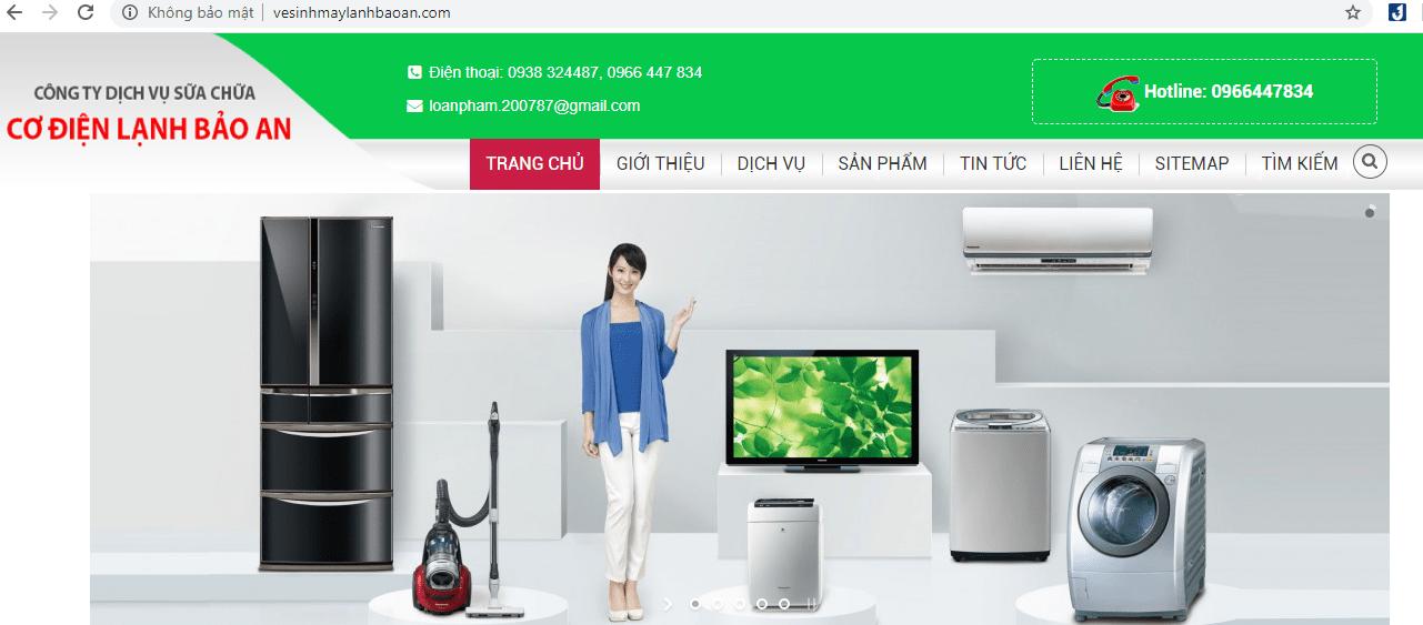 dịch vụ sửa chữa máy giặt Sài Gòn