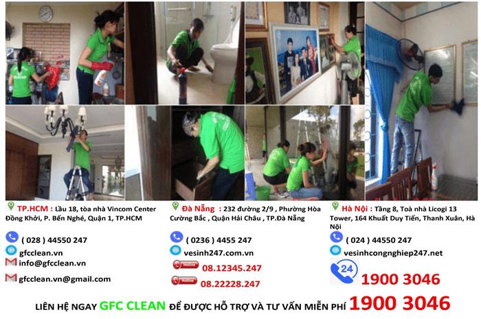 dịch vụ vệ sinh Sài Gòn