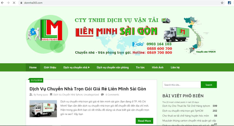 dịch vụchuyển nhà Sài Gòn