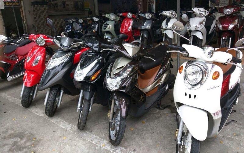 dịch vụ thuê xe máy Sài Gòn