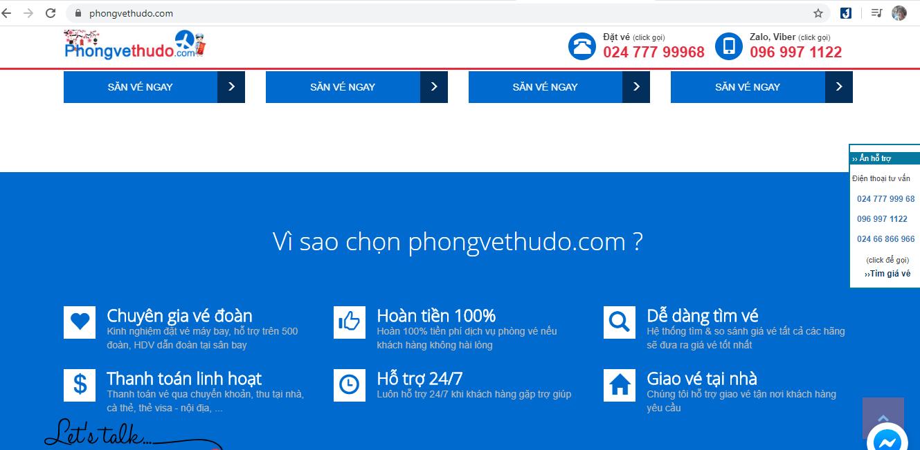 địa chỉ bán vé máy bay sg