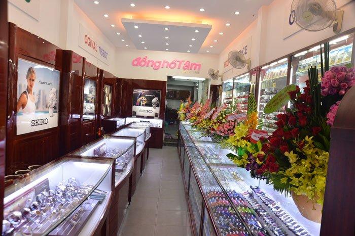 Cửa hàng đồng hồ Đà Nẵng