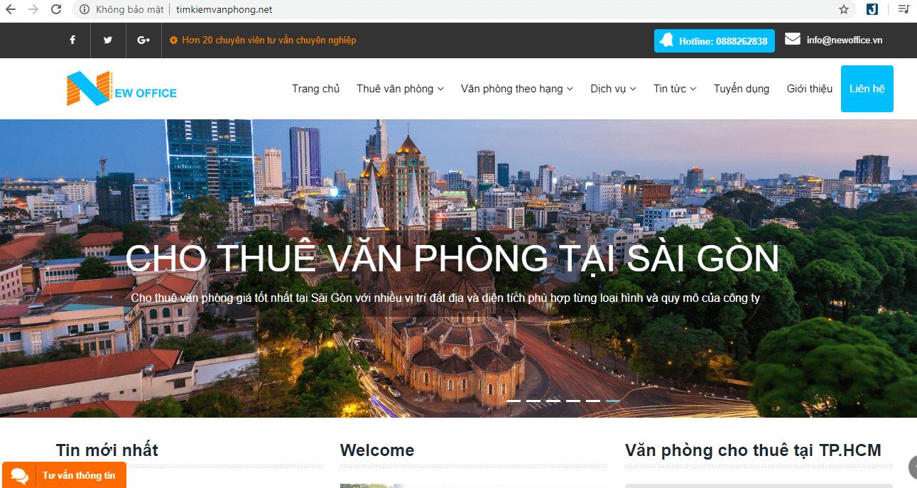 cho thuê văn phòng Sài Gòn