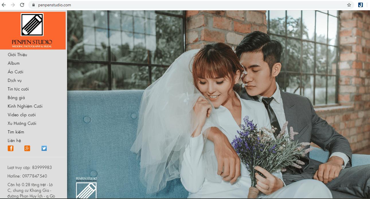dịch vụ chụp ảnh cưới Sài Gòn