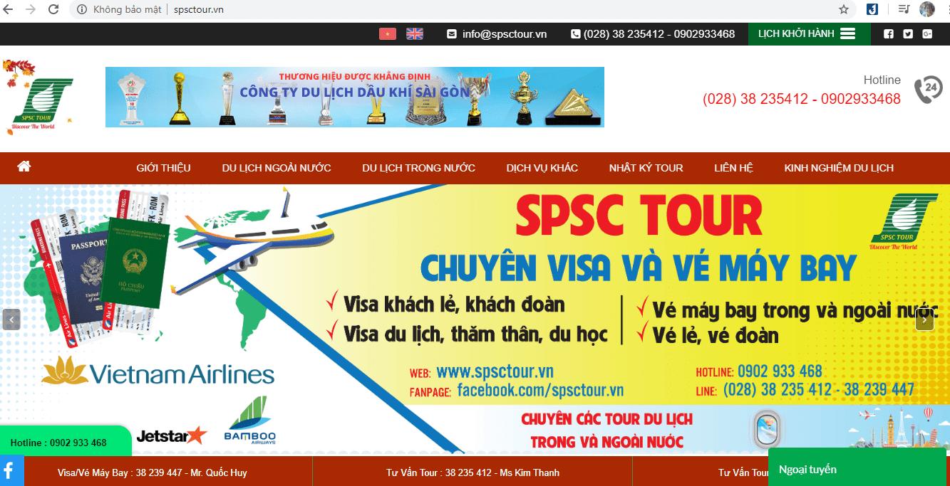 công ty du lịch Sài Gòn
