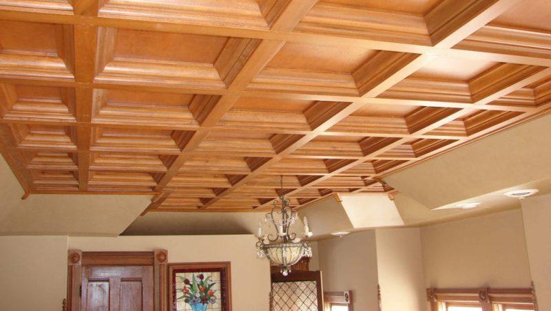 thi công trần gỗ Đà Nẵng