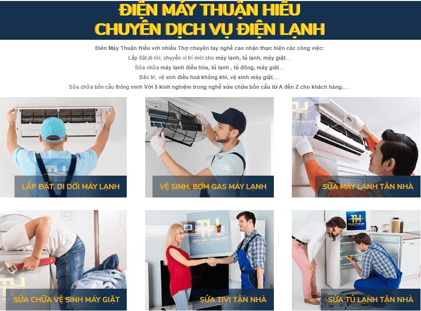 Dịch Vụ Sửa Điện Lạnh Tại Sài Gòn