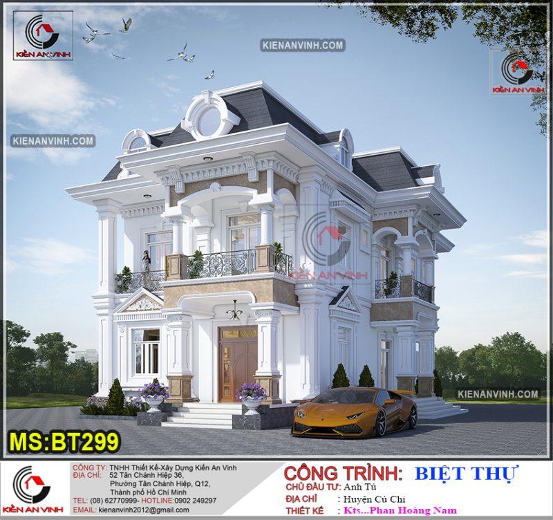 thiết kế biệt thự Sài Gòn