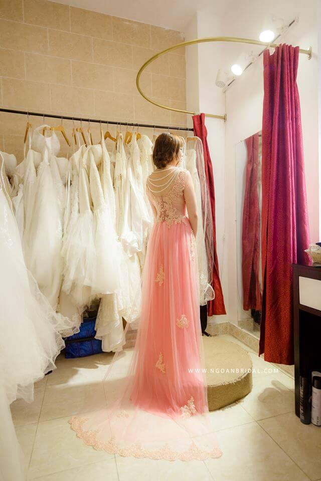 Shop cho thuê áo dài cưới Đà Nẵng