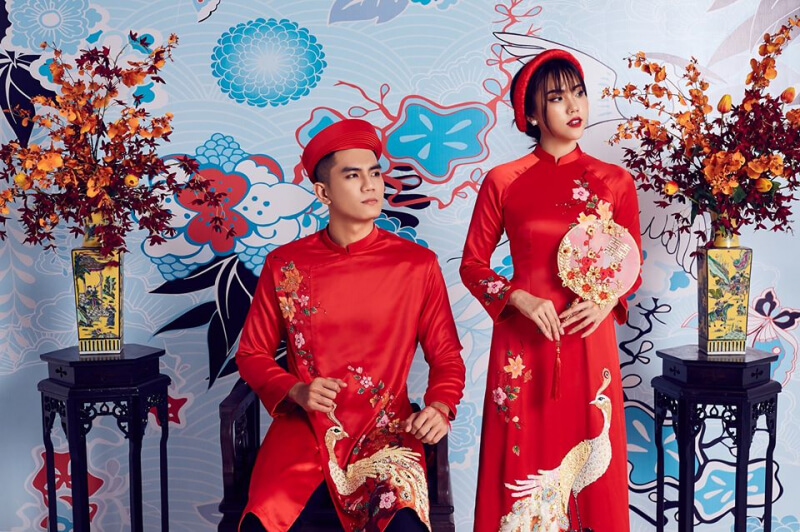 Shop áo dài cưới Đà Nẵng