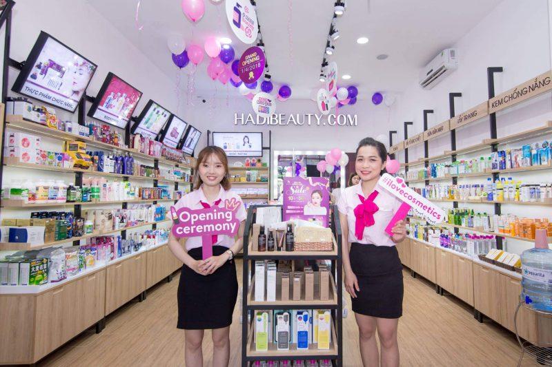 cửa hàng mỹ phẩm Đà Nẵng