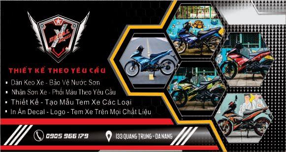 Dán Xe Máy Đà Nẵng