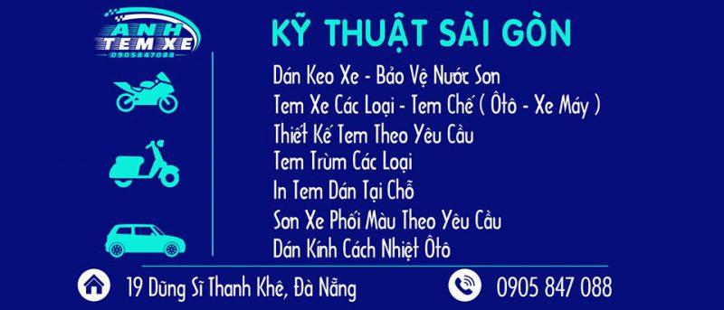 dịch vụ Dán Xe Máy tại Đà Nẵng