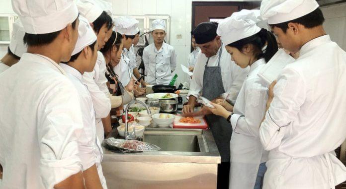 Địa chỉ học nghề đầu bếp Đà Nẵng chất lượng