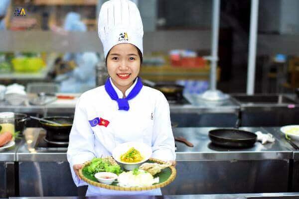 Địạ điểm học nghề đầu bếp Đà Nẵng chất lượng