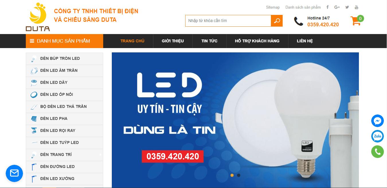công ty đèn led tại Đà Nẵng