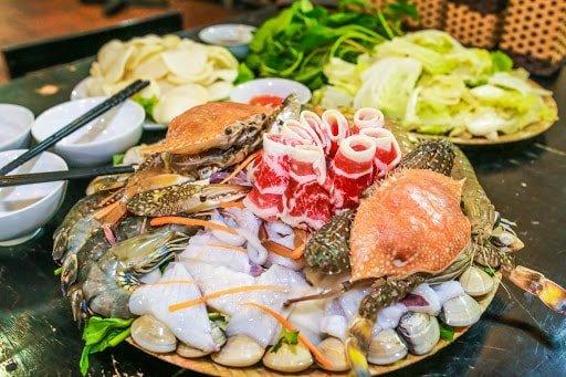 nhà hàng hải sản Đà Nẵng tươi sống