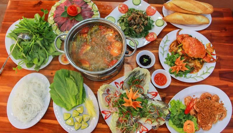 nhà hàng hải sản tại Đà Nẵng