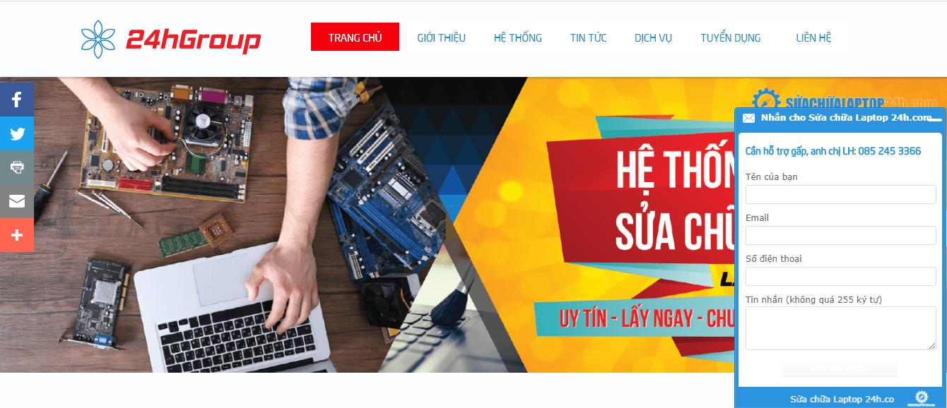 sửa máy tính ở Sài Gòn