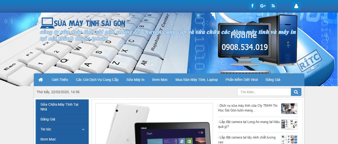 sửa máy tính tại Sài Gòn