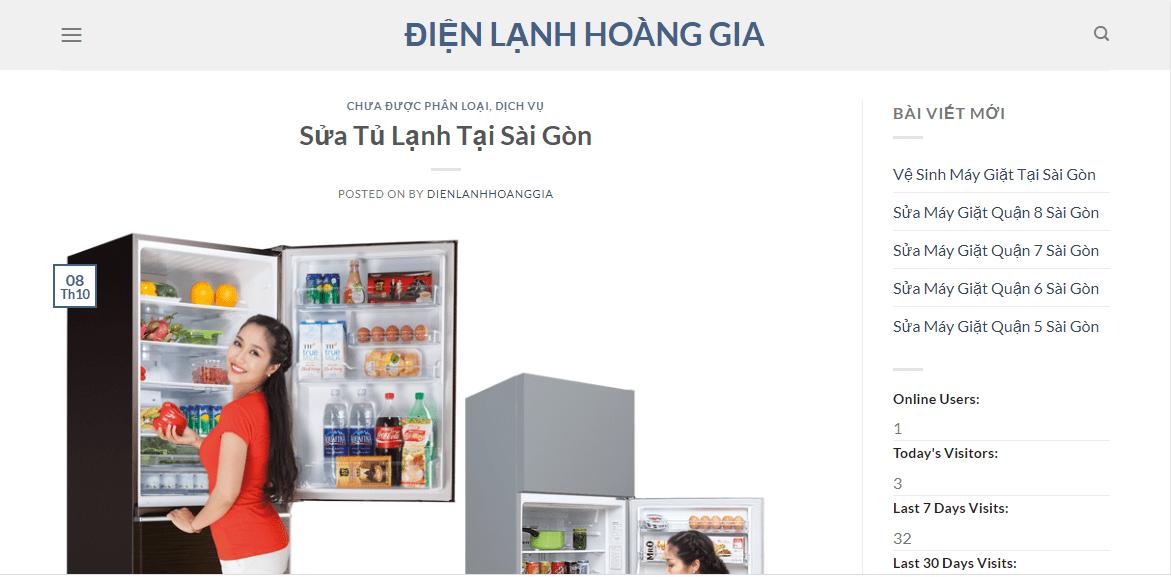 sửa tủ lạnh tp hcm