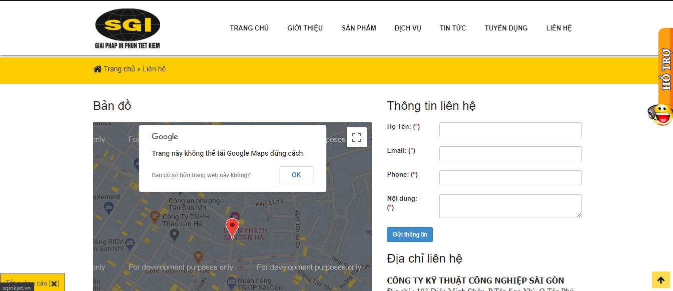 máy in Sài Gòn