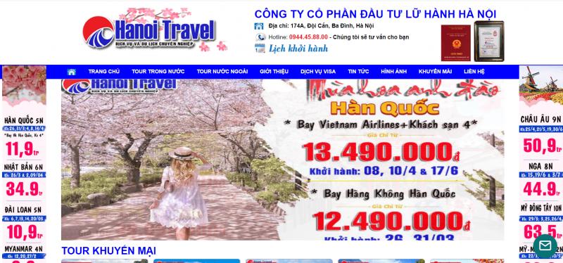 các công ty du lịch Hà Nội