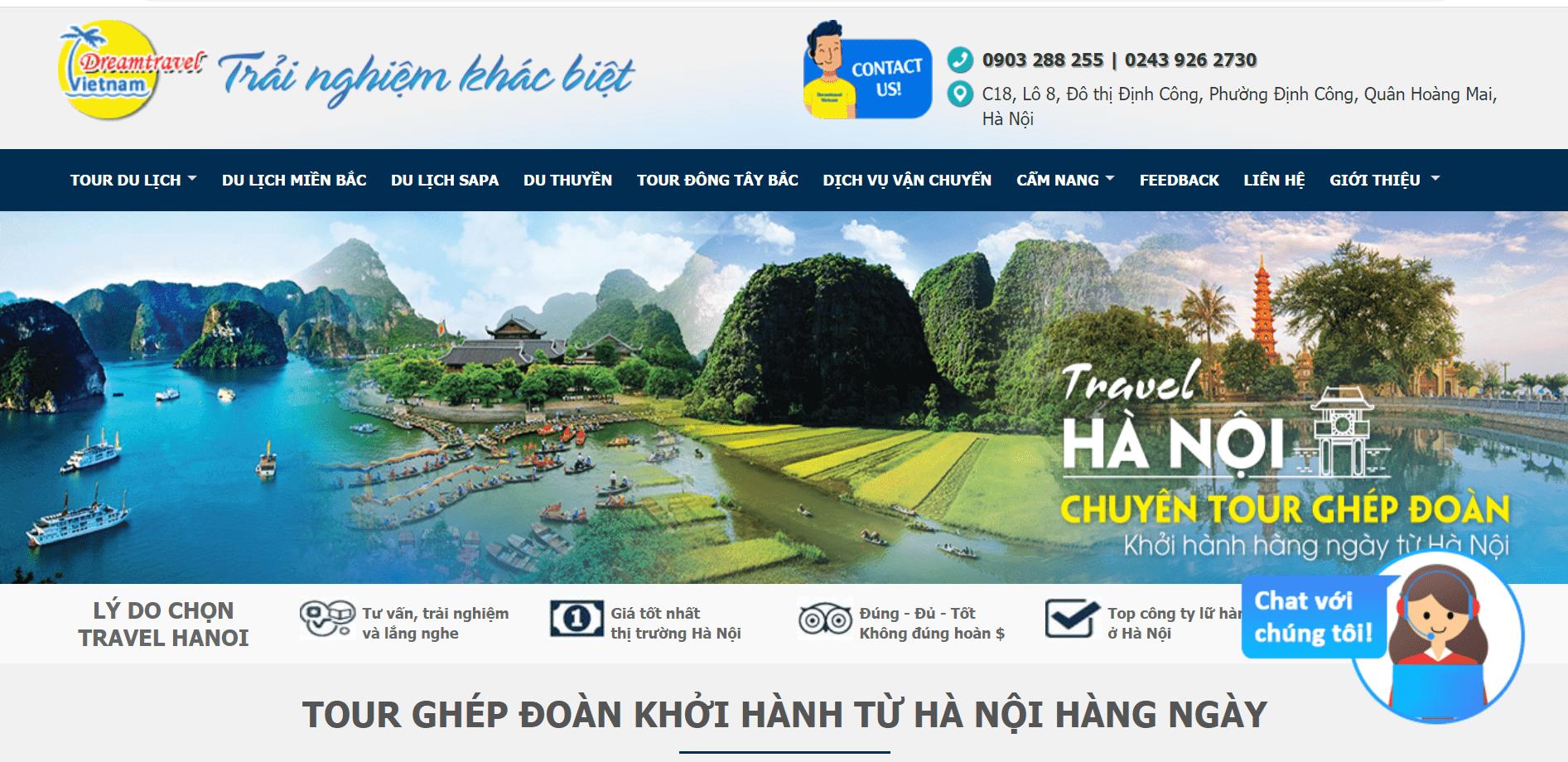 công ty du lịch Hà Nội