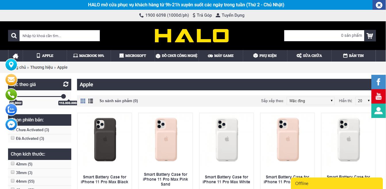 cửa hàng iphone sài gòn