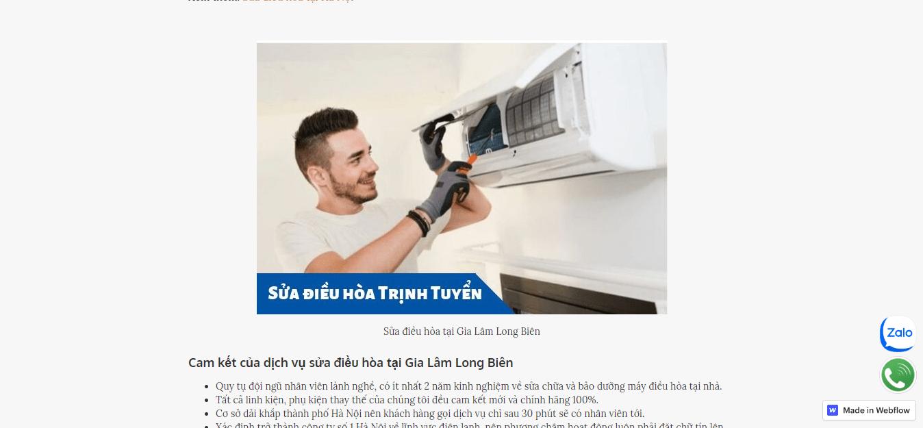 dịch vụ tháo lắp máy lạnh hà nội