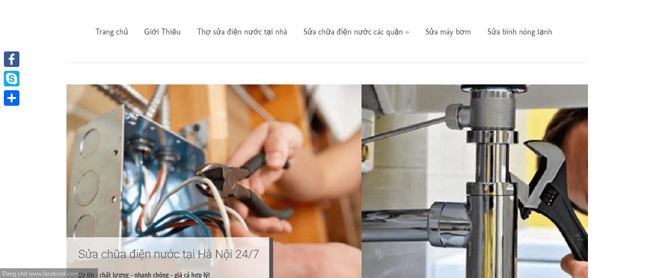 khắc phục sự cố điện nước Hà Nội