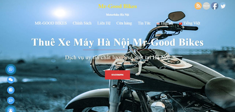 dịch vụ thuê xe máy Hà Nội