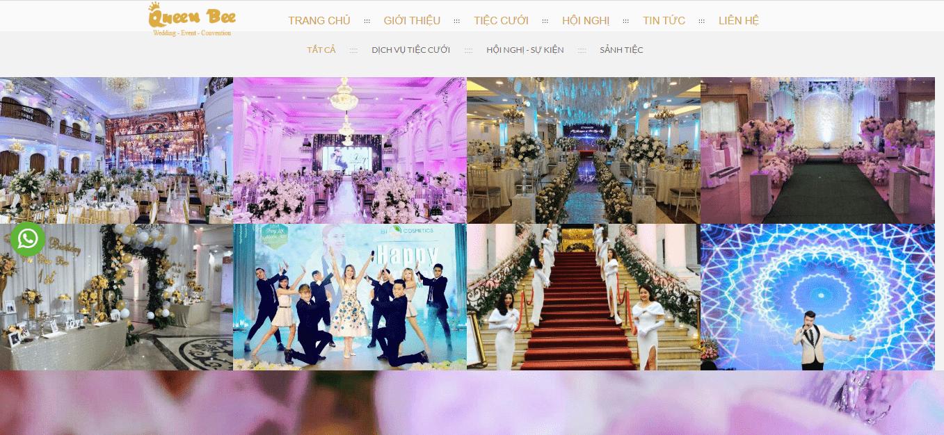 dịch vụ decor đám cưới thủ đô