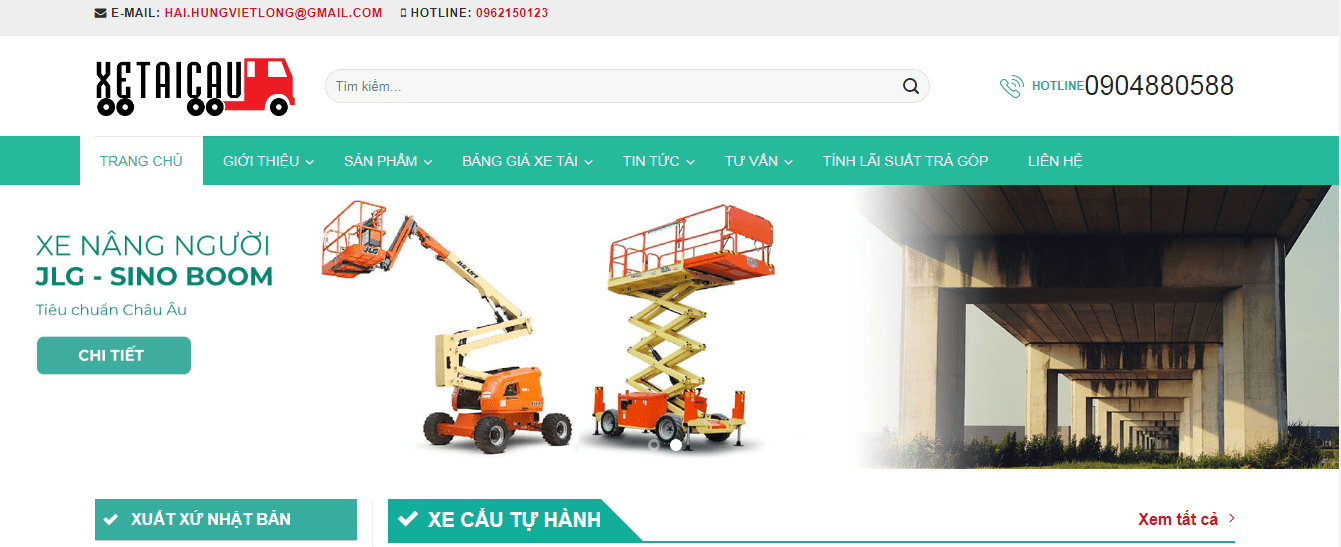 dịch vụ vân tải ở Hà Nội
