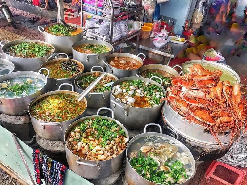 địa điểm ăn hải sản ngon ở Quy Nhơn