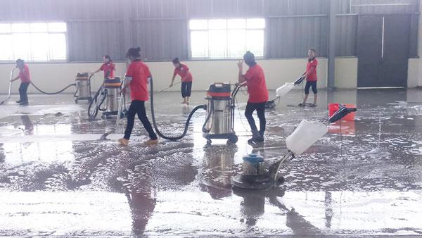 dịch vụ dọn dẹp công nghiệp Hải Phòng