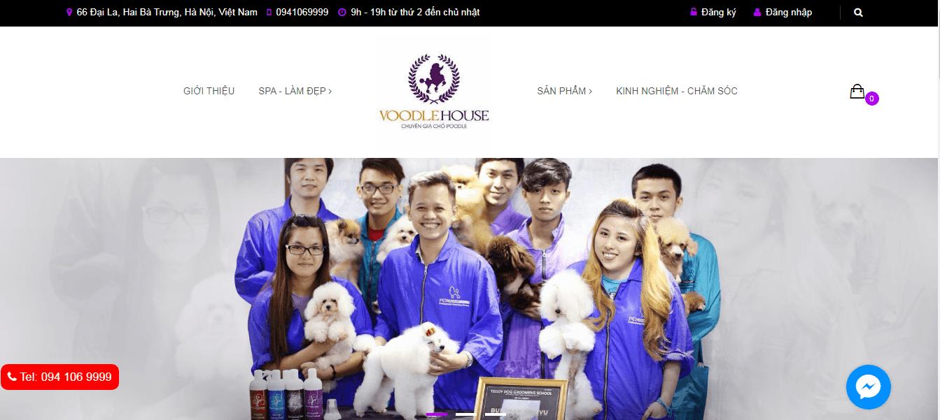 shop chó cảnh ở Hà Nội