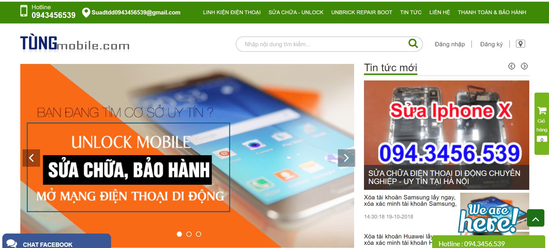 sửa điện thoại Hà Nội