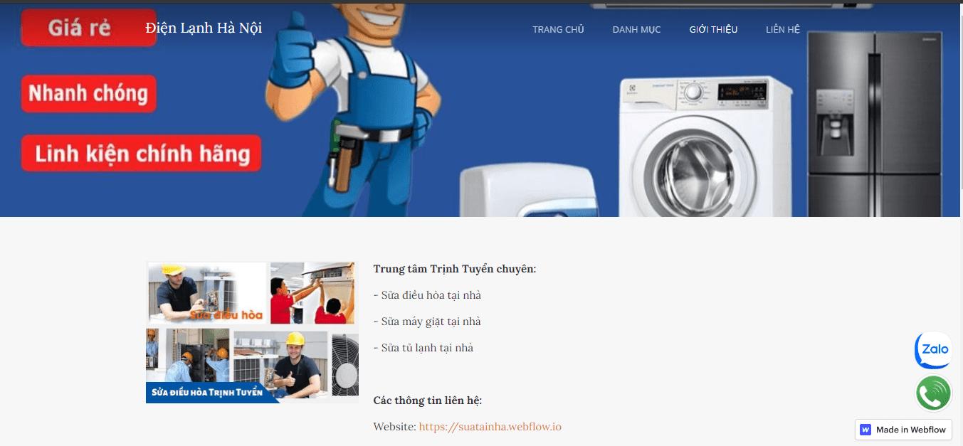sửa tủ lạnh số 1 HN