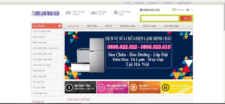 sửa tủ lạnh Hà Nội