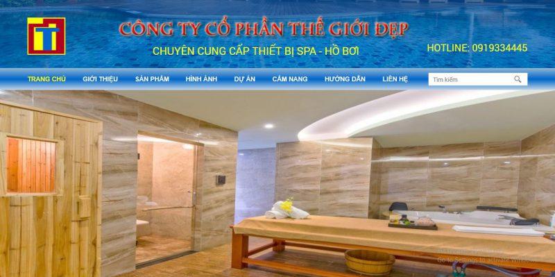 điểm địa cung cấp thiết bị spa chất lượng tại Đà Nẵng