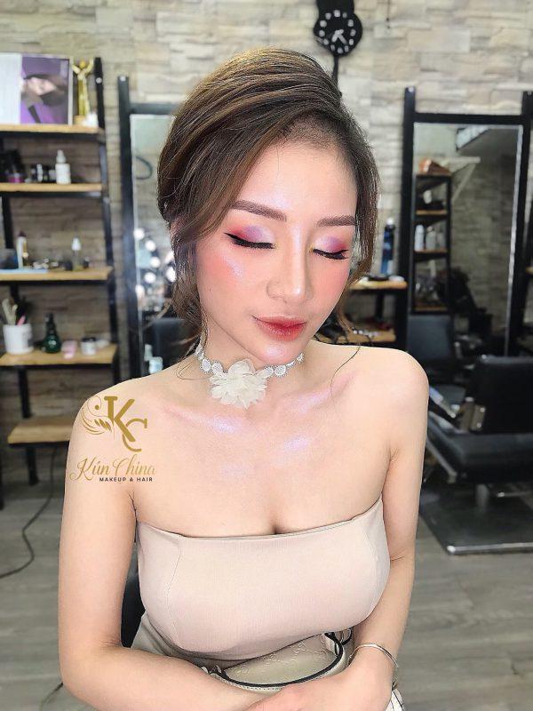 makeup tại nhà ở hải phòng
