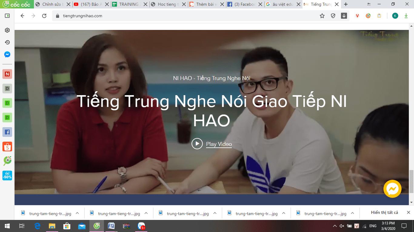 trung tâm tiếng trung tại Sài Gòn