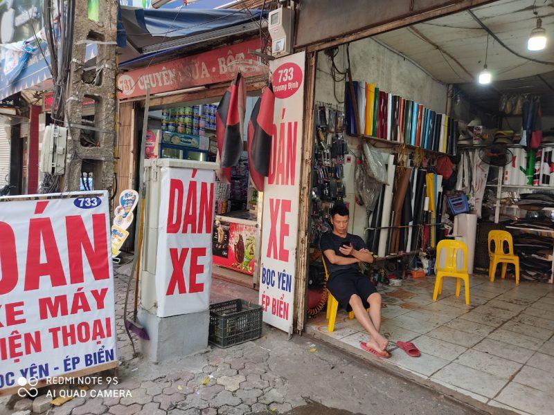 Cửa Hàng Dán Xe Máy Huy Hoàng